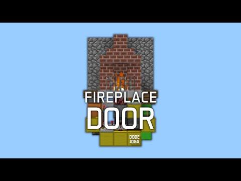 Redstone: Fancy Fireplace Entrance [Tutorial]
