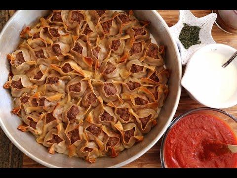 How to Make Manti - Armenian Manti Recipe - Heghineh Cooking Show