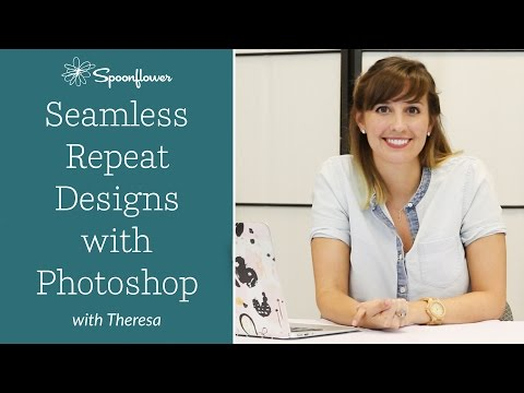 How to Create a Seamless Repeat Pattern with Adobe Photoshop CC | Spoonflower Tutorial