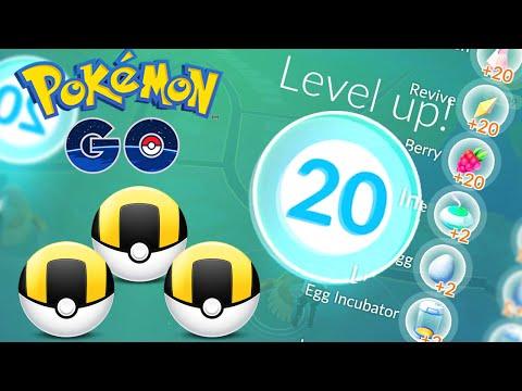 20,000 XP IN 15 MINUTES! | Pokemon GO | Level 20 & ULTRA BALLS!