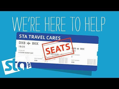 HOW DO I SELECT A SEAT?   Flight Help   STA Travel Cares