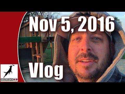 Nov 5, 2016 Vlog - Southtown K9