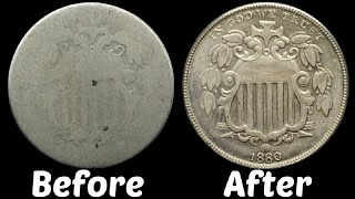 How To Restore 150 Year Old Coins Using Nic-A-Date (DATES REVEALED!)