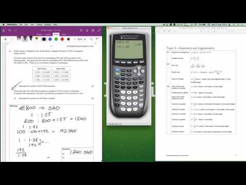 IB Maths Studies May 2015 Time Zone 1 Paper 1 Question 6