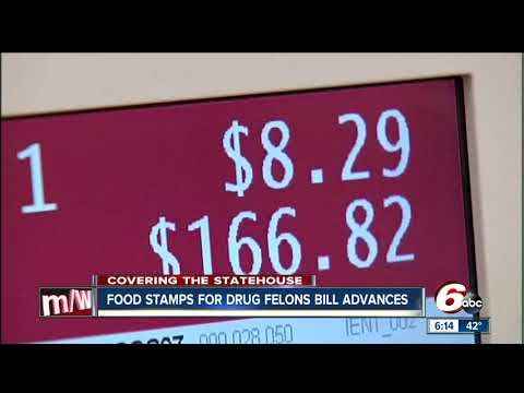 Food stamps for drug felons bill heads to Governor's desk for approval