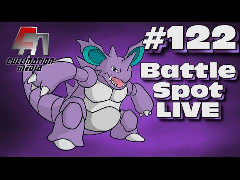 Pokemon X and Y WiFi Battle: Battle Spot Live #122: Nidoking Ain't No Nancy!