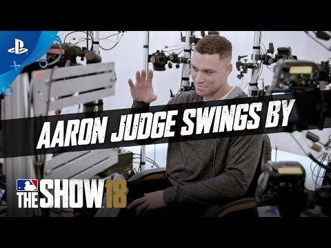MLB The Show 18 – Aaron Judge Studio Tour | PS4