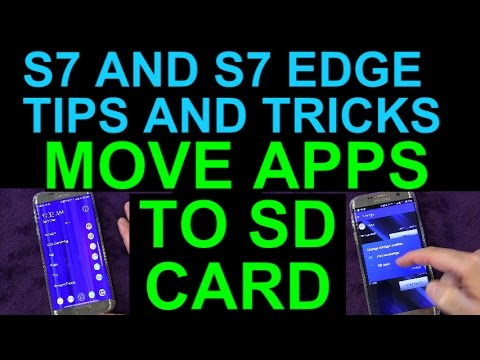 Move Apps to SD Card to Free up Internal Memory on Your Samsung Galaxy S7 or S7 Edge