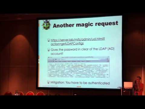 HIP13 : The Security of MDM (Mobile Device Management) systems