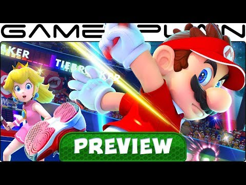 We Played Mario Tennis Aces for 45 Minutes! Hands-On Preview (New Story Details!) (Nintendo Switch)