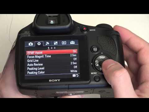 Sony Cyber-shot DSC-HX400V Update and Menu Diving in 4K