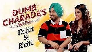 Diljit Dosanjh & Kriti Sanon play Dumb Charades | Arjun Patiala | CineBlitz
