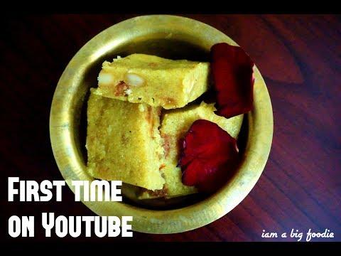 First time on Youtube.!!!!! ||Kabishambardhana Burfi Recipe ..!!!!!!