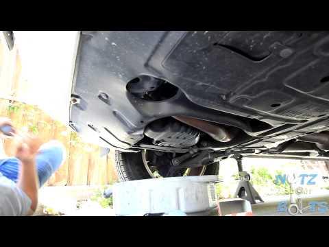 2006–2008 Toyota Rav4 Oil change