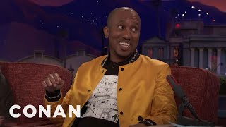"Chris Redd Remembers His ""SNL"" Audition  - CONAN on TBS"