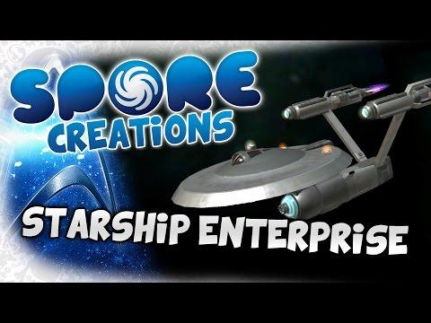 Spore Creations - Let's Create / Build - Part 6 - Starship Enterprise (Star Trek)