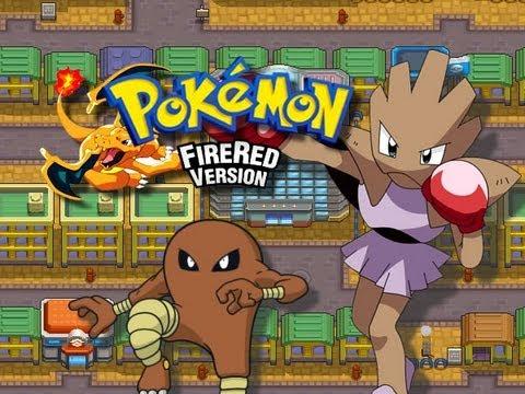 Pokemon FireRed - Saffron City Gym - (Marshbadge) - (GBA)