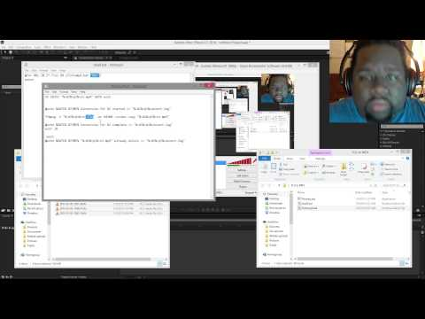 How to convert OBS FLV's into MP4's for use with Adobe AE After Effects CC 2014 for video editing