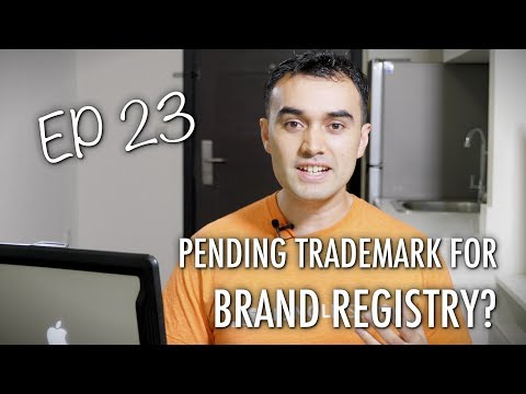 Can I Use a Pending Trademark for Brand Registry??  - ASK JUNGLE SCOUT EP 23