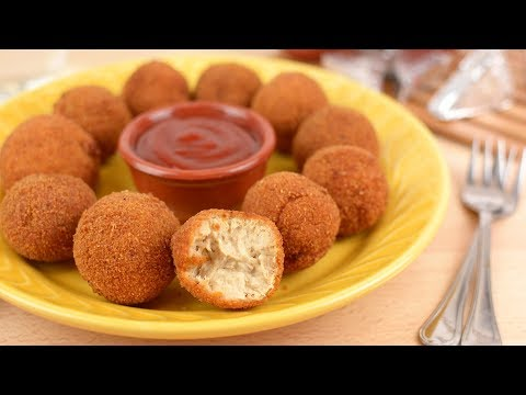 Tuna Cheese Balls - How to Make Cheesy Tuna Balls