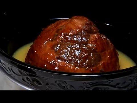 Brown Sugar Ham Glaze in a Slow Cooker : Ham Recipes