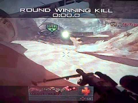 mw2 cool trick shot