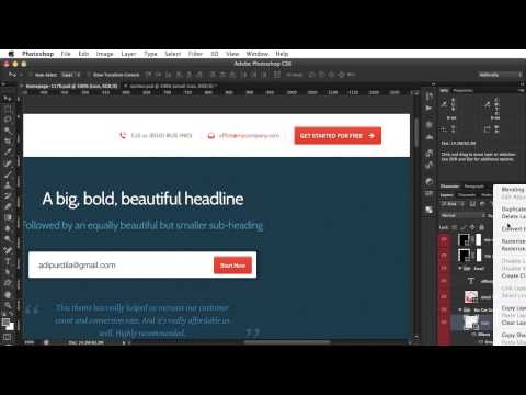 PSD to HTML - Lesson 7