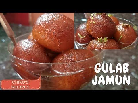 | GULAB JAMUN || MAWA & PANEER || INDIAN SWEET DISH || CHIKO'S RECIPES |