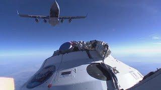 CPAS EDU-A-CDT-3-9 PTV-4 Airdrop Parachute Development Test
