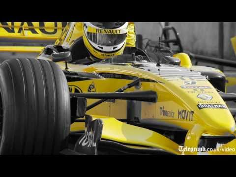 What's it like to drive a Renault F1 car?