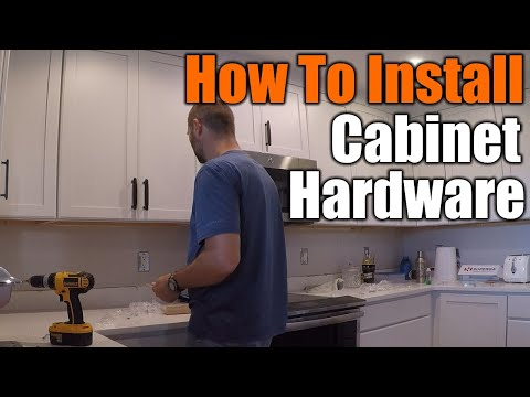 How To Make Cabinet Hardware Jig For Perfect Alignment