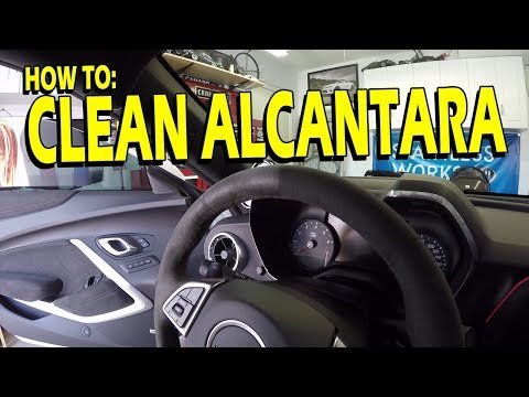 Cleaning Alcantara or Suede - The Epic Guide!