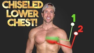 """SHREDDED Lower Chest Workout 