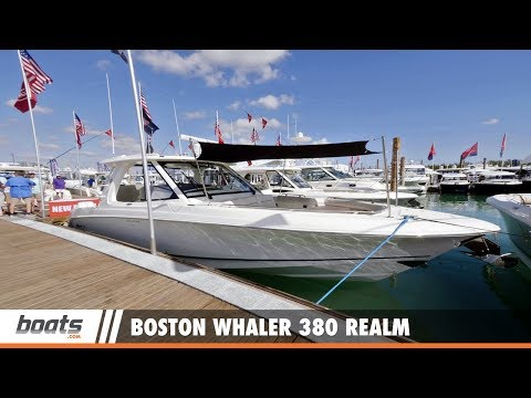 Boston Whaler 380 Realm: First Look Video