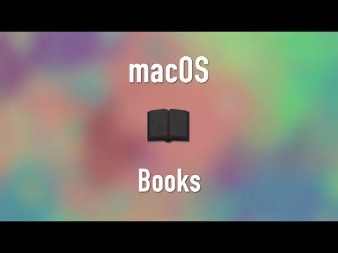 macOS: Apple Books