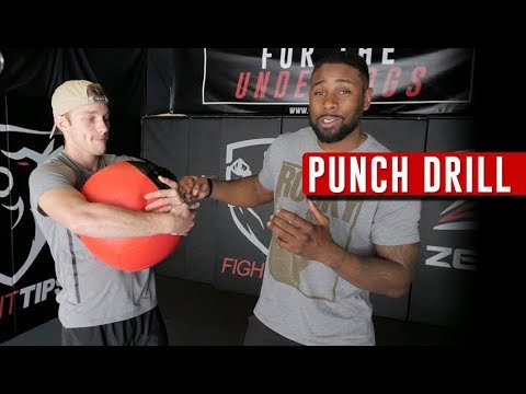 Boxing Drill for Developing Urgency to Finishing Fights