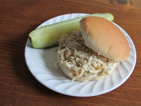 How To Make Shredded Chicken Sandwiches