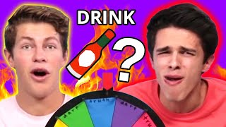 Wheel of Truth or Dare | VS w/ Brent Rivera and Ben Azelart
