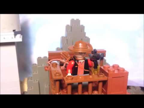 Lego TF2 the Movie part 3 Clip: Robot Sniper