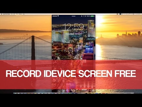 How To Record iPhone/iPad/iPod Screen Free In MacOS