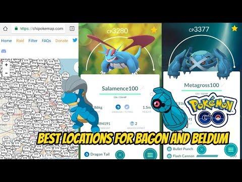 Bagon and Beldum Nests Location New Gen 3 Pokemon Go