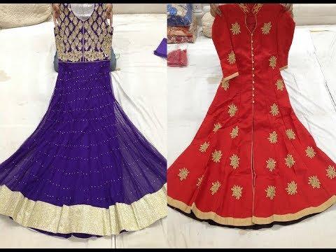Latest Stylish Net Anarkali Suit Collections || Designer Anarkali Dresses
