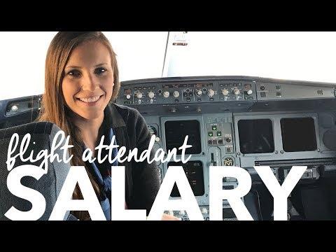Flight Attendant Salary | FLIGHT ATTENDANT LIFE | VLOG 89