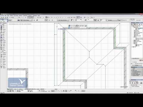 ArchiCAD - Roof Tool - Part 3 of 5 [Video 18]