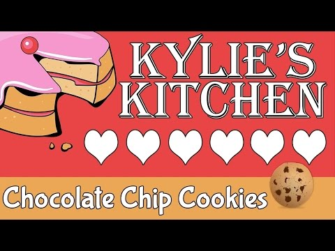Homemade Chocolate Chip Cookies Recipe DIY - {Kylie's Kitchen}