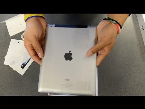 The New Apple iPad 3rd Generation Unboxing: Verizon Wifi + 4G