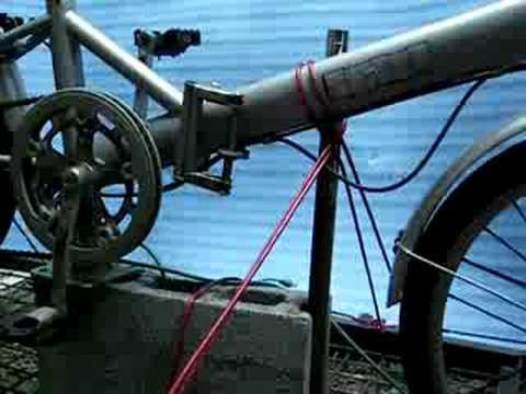 My Whacky Homemade Exercise Bike