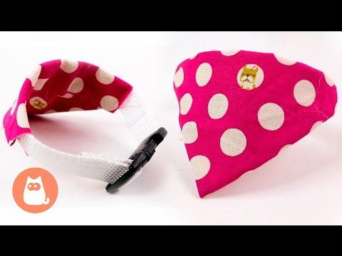 DIY Bandana Dog Collar - Step by Step Tutorial