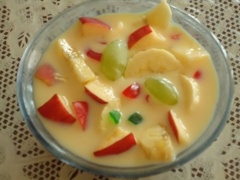 Recipe - Fruit Salad (Hindi)   फ्रुट सलाड  (हिंदी)