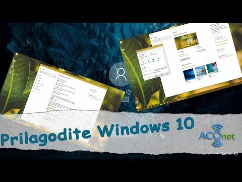 Prilagodi Windows 10
